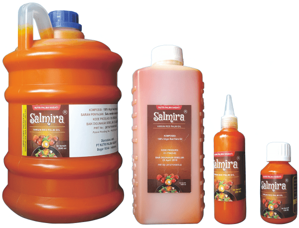 Salmira Virgin Red Palm Oil