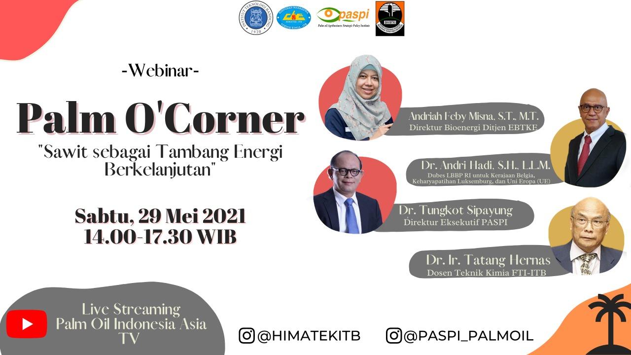Palm O'Corner x ITB 2021