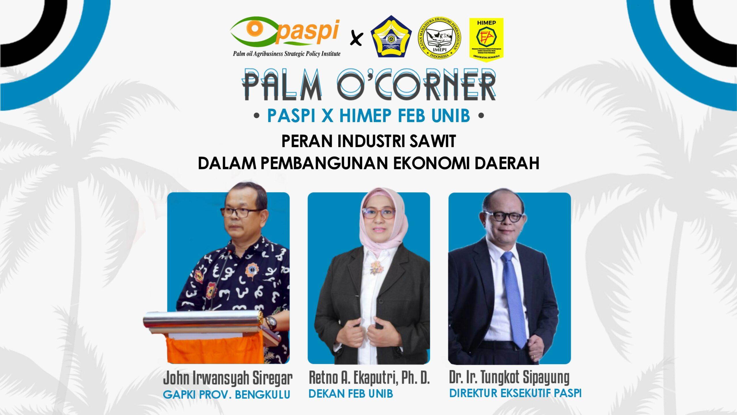 Palm O'Corner 2021 - Universitas Bengkulu